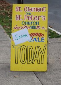 Santa Sale sign 12-5-15